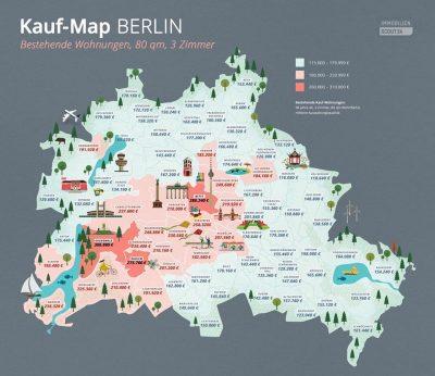 Infografik Kauf-Map Berlin