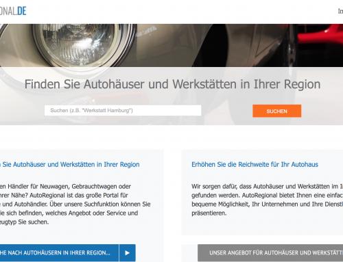 autoregional.de – Content, Suche und Berichte rund ums Auto