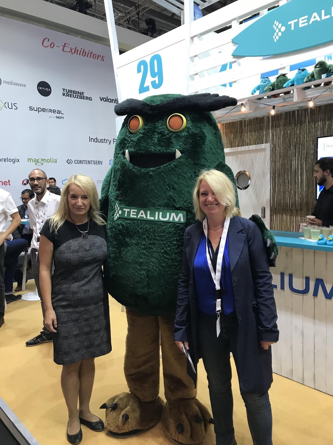 dmexco 2018 Eva Blomenkamp & Tealium
