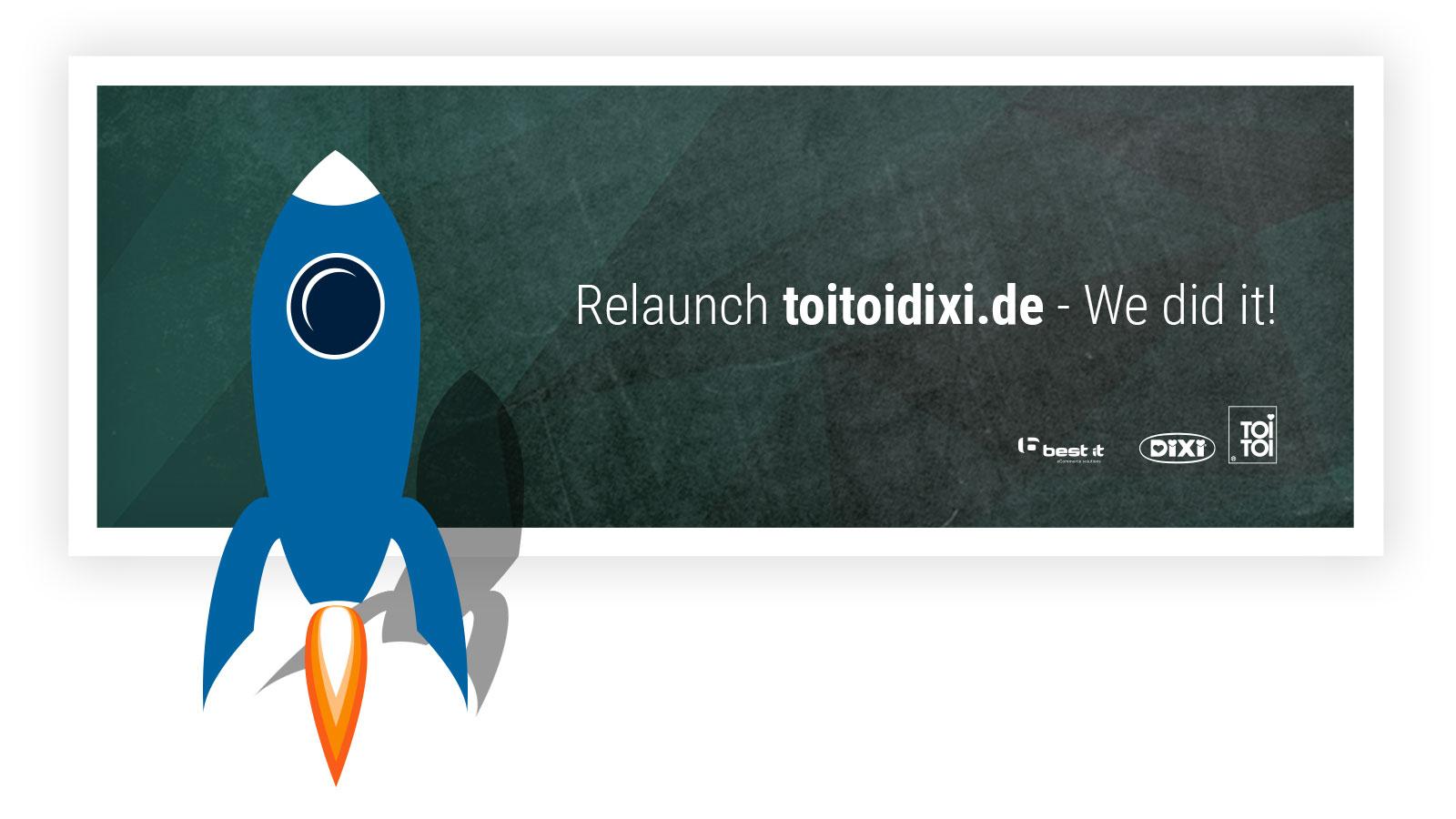 Relaunch TOI TOI und DIXI