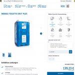 TOITOI & DIXI Toilettenkonfigurator