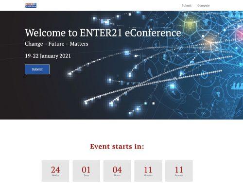Neuer Kunde: Enter21 – die digitale Konferenz für Tech und IT im Tourismus
