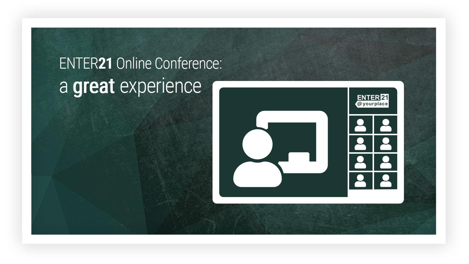 ENTER21 - Online Konferenz